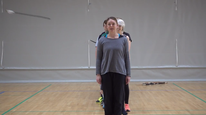 Video: See Archery skills evade people and still hit the target