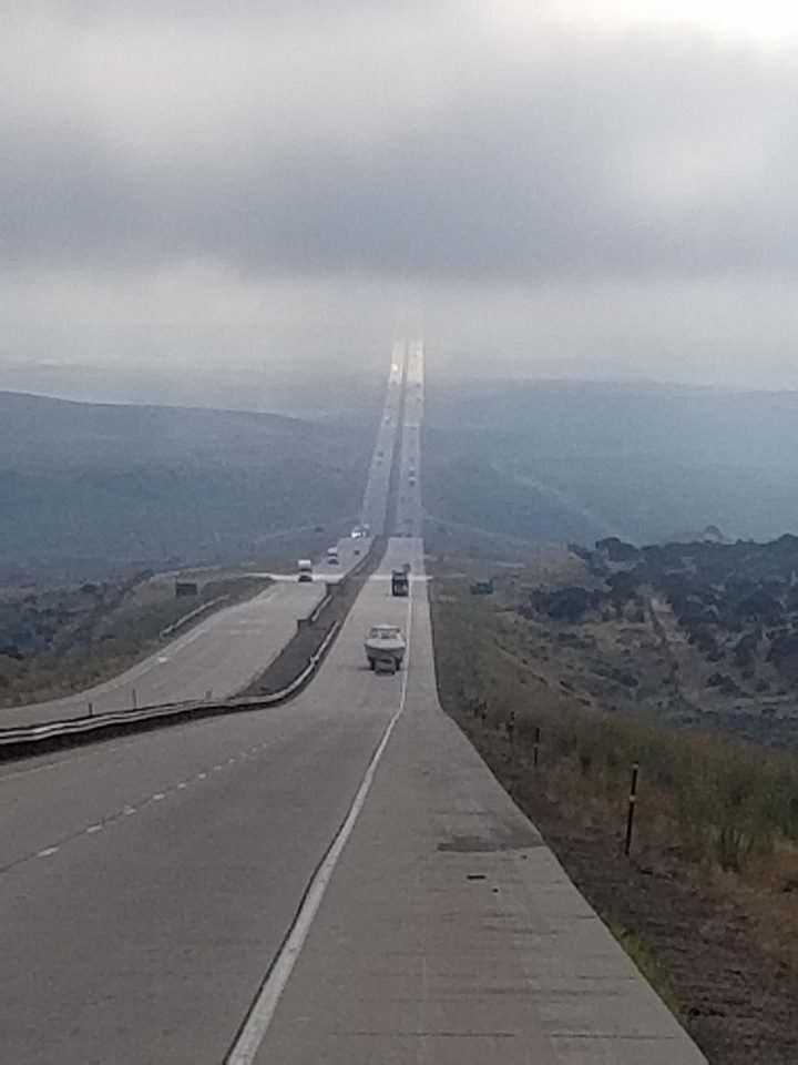 This spot on I-80 in Wyoming is known as the Highway to Heaven - dickfromaccounting - bit.ly2DJVpe0