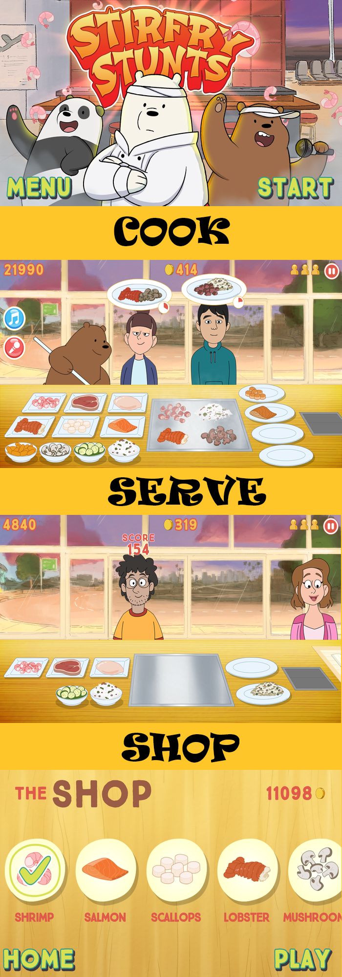 Game Review: StirFry Stunts