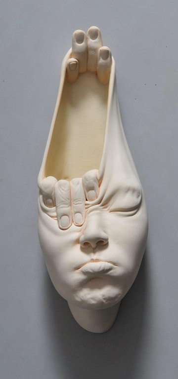 Open Mind, Johnson Tsang, Clay, 2018 - RedRedRoad - bit.ly2FMfRjx