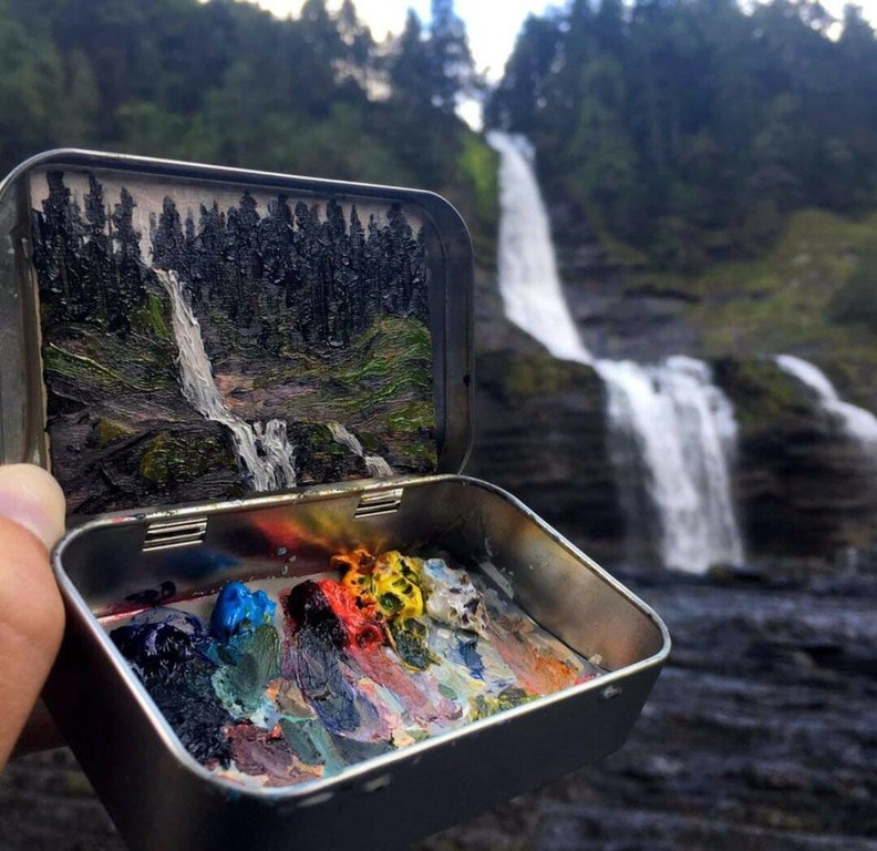 Painting Nature - lakeyoung - bit.ly2Fv5MHr