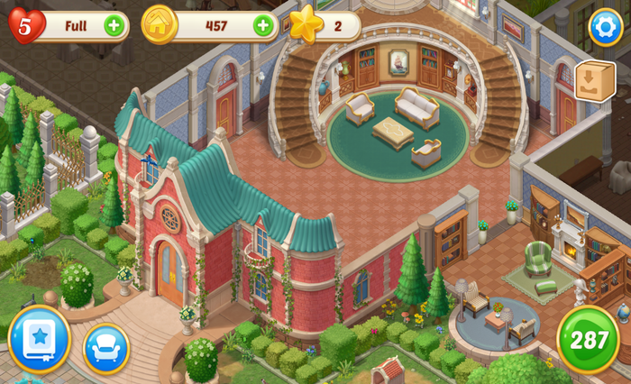 Game Review: Matchington Mansion