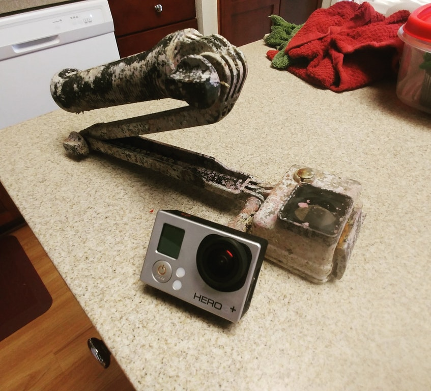 Found a GoPro that's been in the ocean for roughly 2 months, it still works - Leazulzorro - bit.ly2wExkGu