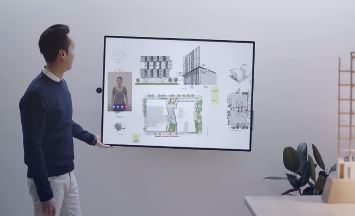 Video: Microsoft Hub 2 gives any office an upgrade