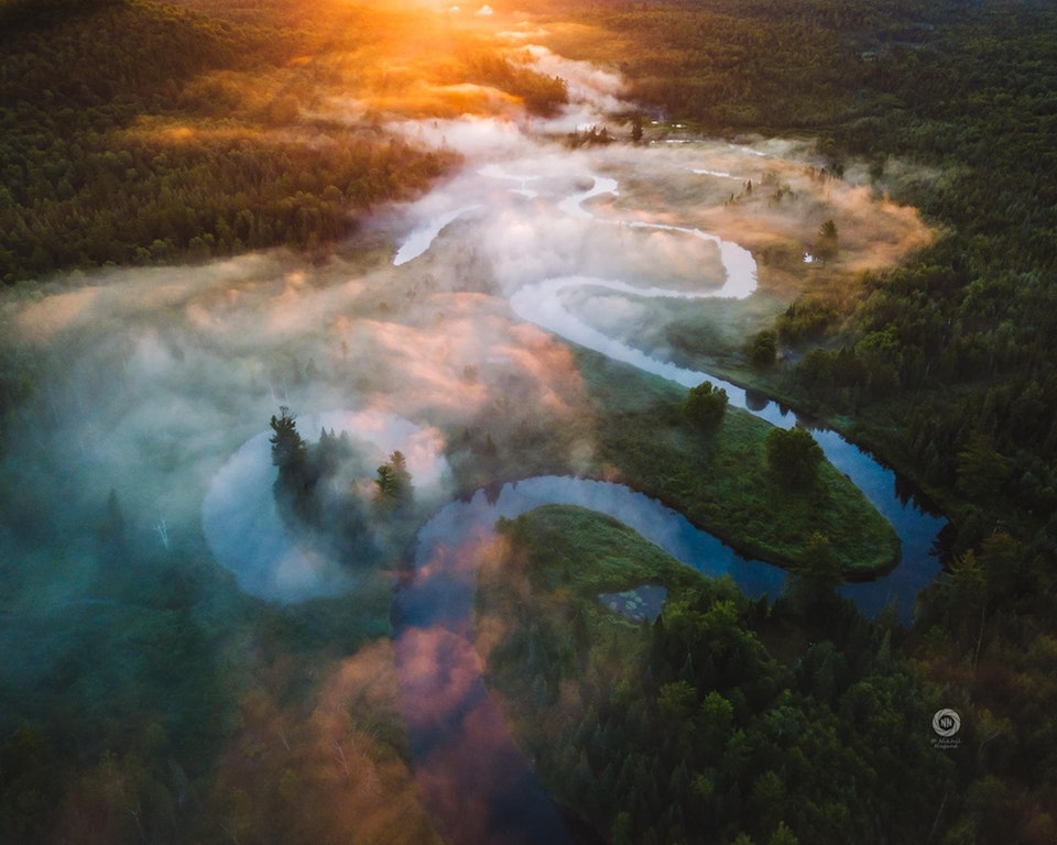 First light in the Adirondacks in New York - nikn - bit.ly2zLQKuE