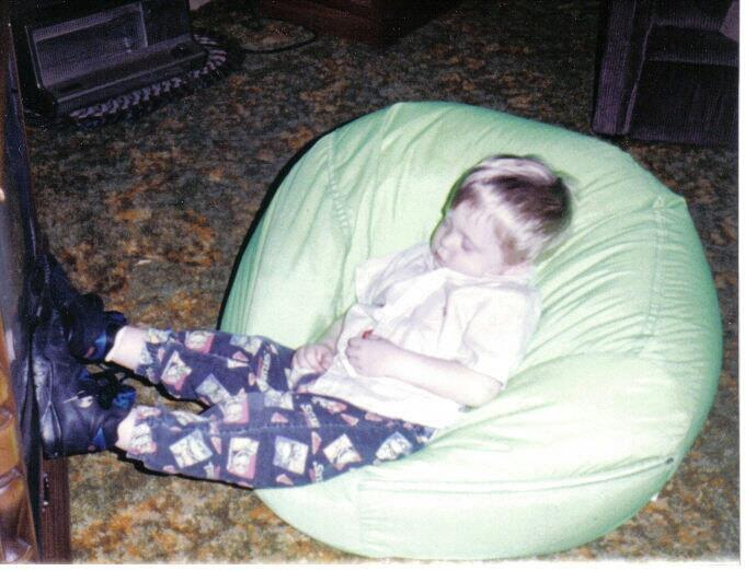 I turned 29 today, but I wish I could go back to 1994 again and just fall asleep in my bean bag chair after watching the Power Rangers