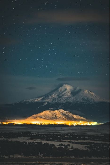 Sleeping Giant. Mt. Shasta Ca