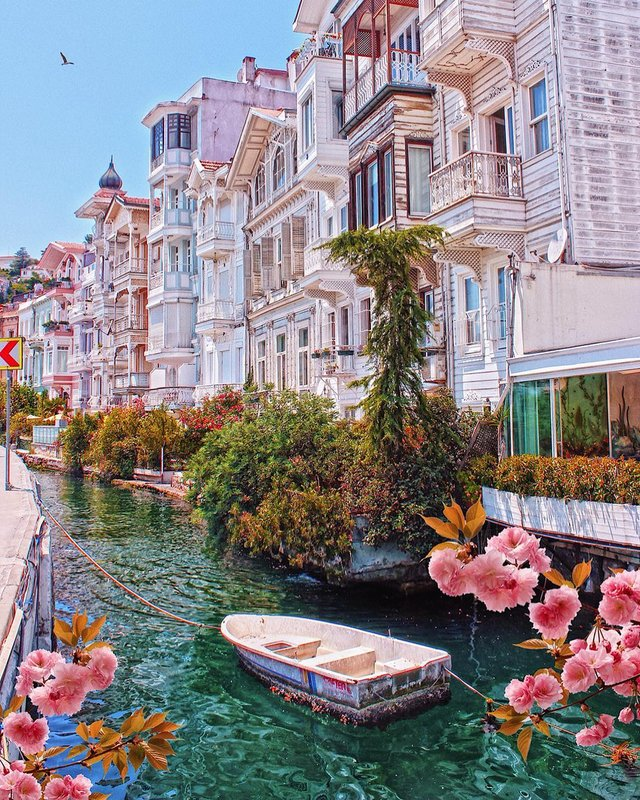 Arnavutköy, historic neighbourhood in Istanbul, famous for its wooden Ottoman mansions and seafood restaurants