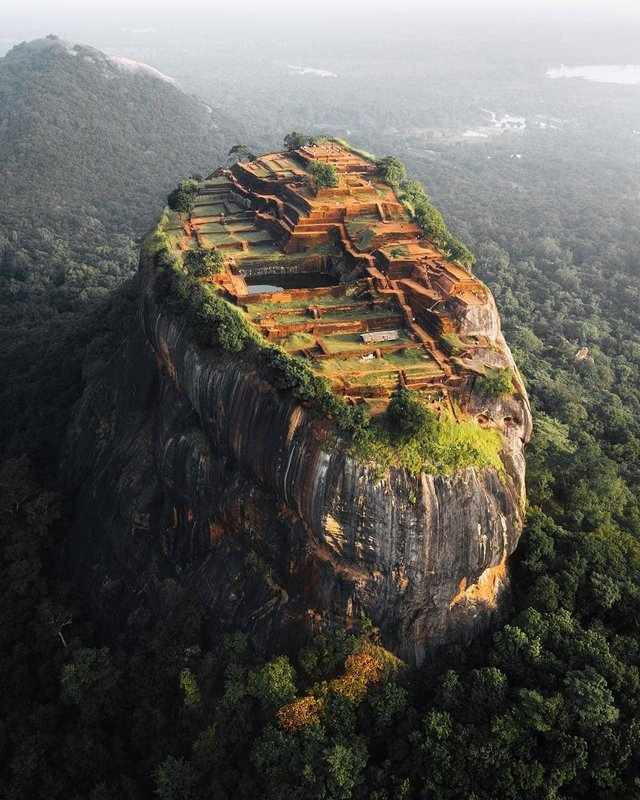 The hill fortress of Sigiriya, Sri Lanka
