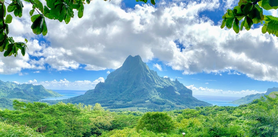 Taken at Belvedere Lookout, Mo'orea, French Polynesia