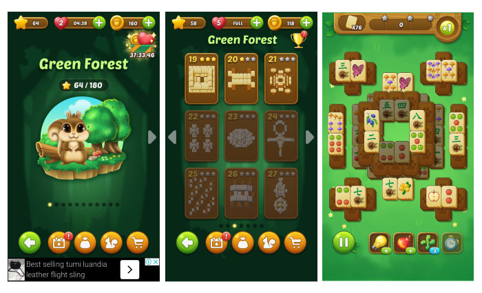 Game Review: Mahjong Forest Journey