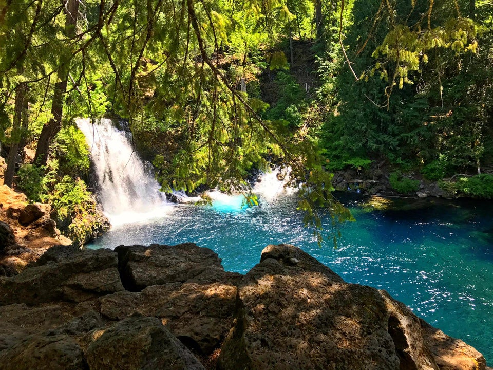 Blue Pool, Oregon USA