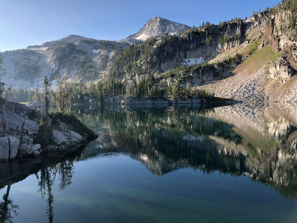 Mirror Lake, Eagle Cap Wilderness, Oregon