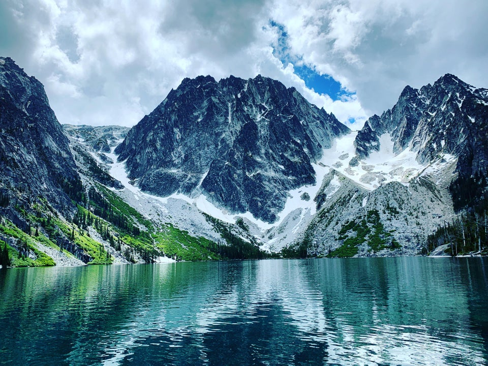 One of the most amazing views I've ever seen Colchuck Lake, Washington