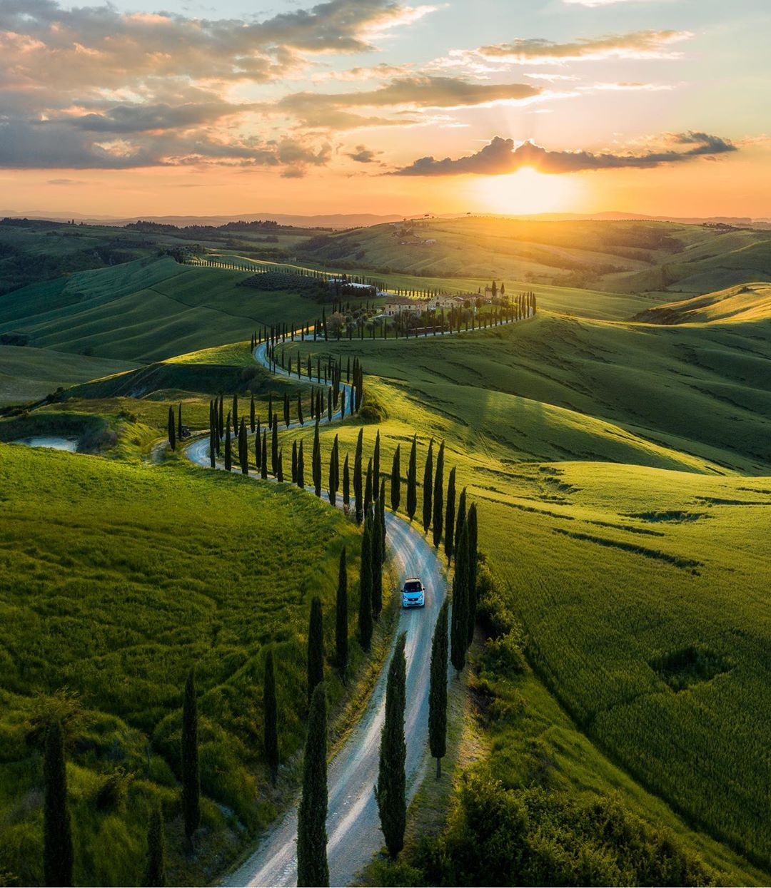 The roads of Tuscany