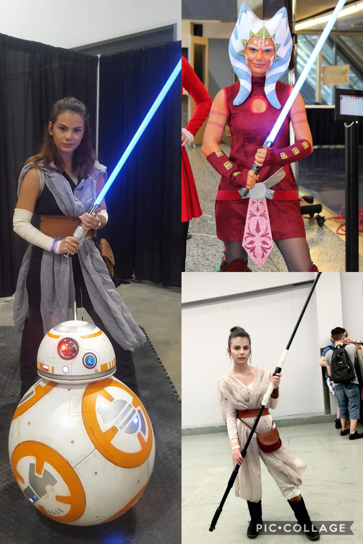 I'm a cosplay noob, but here are my Star Wars cosplays so far