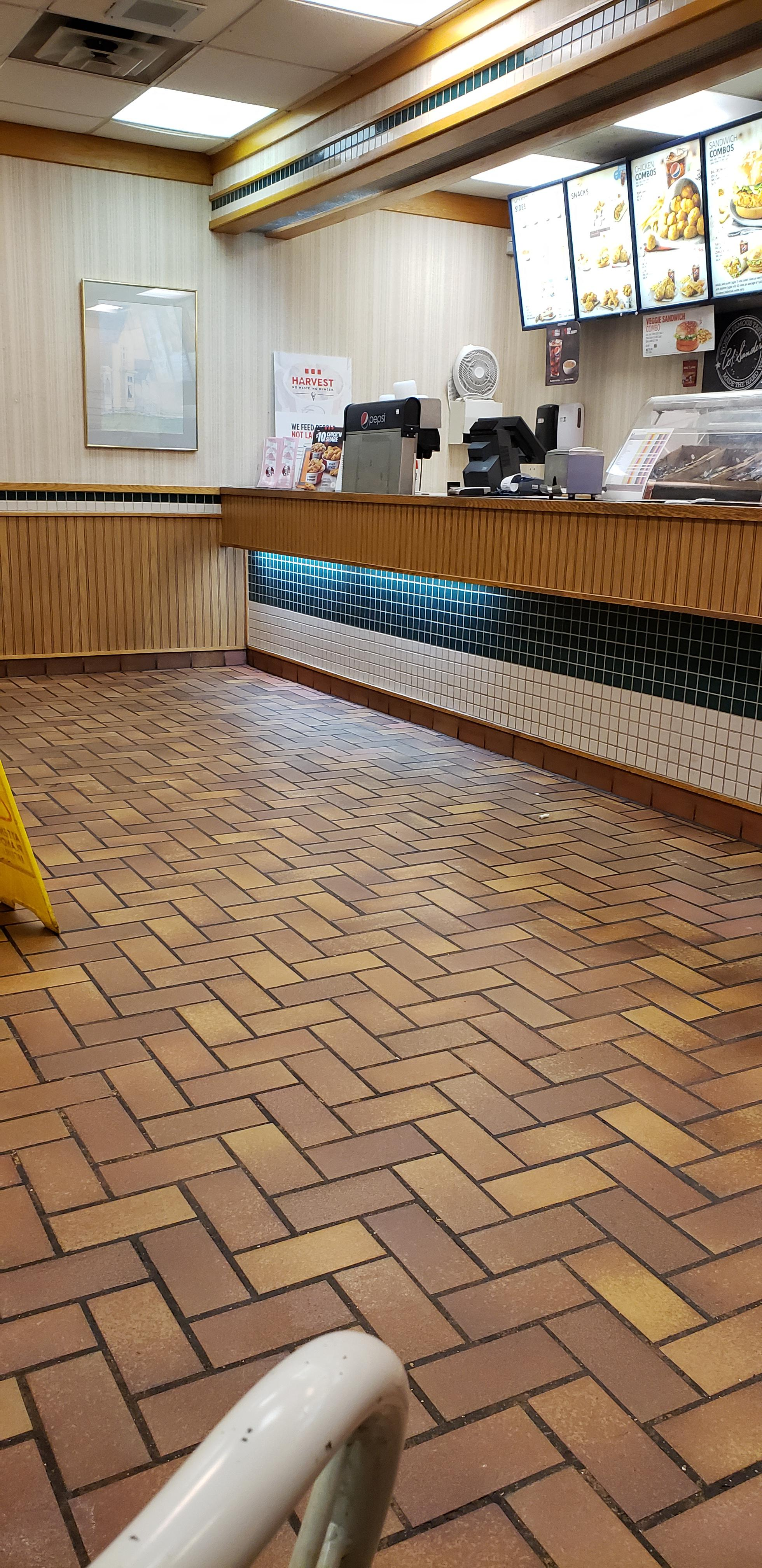 My Local KFC hasn't changed since the 80's
