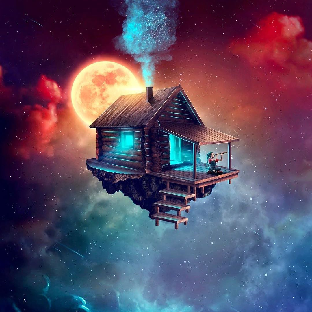 My house in my mind, Anildigitalartist, Digital