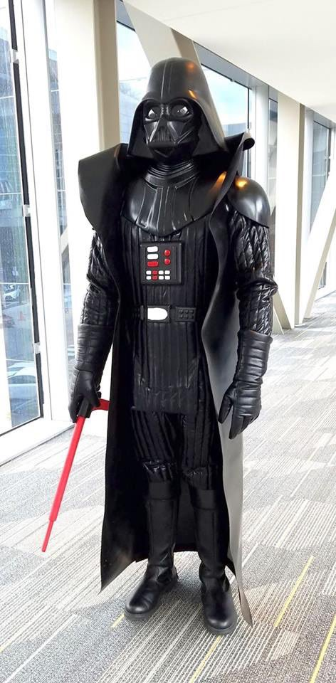 Old School Kenner Darth Vader cosplay