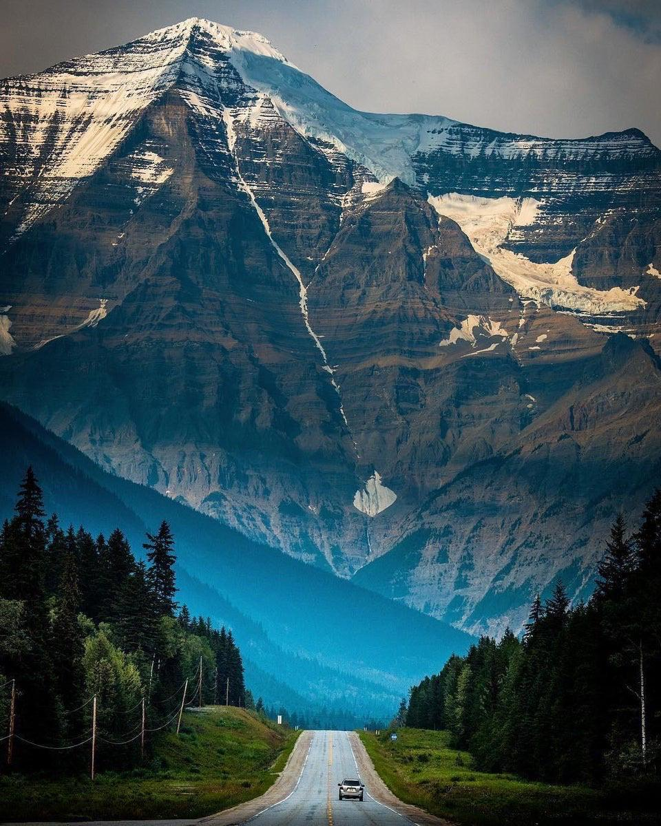 Mt. Robson, the highest peak in the Canadian Rockies