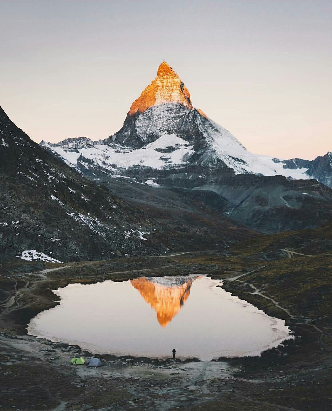 The Matterhorn in Valais, Switzerland