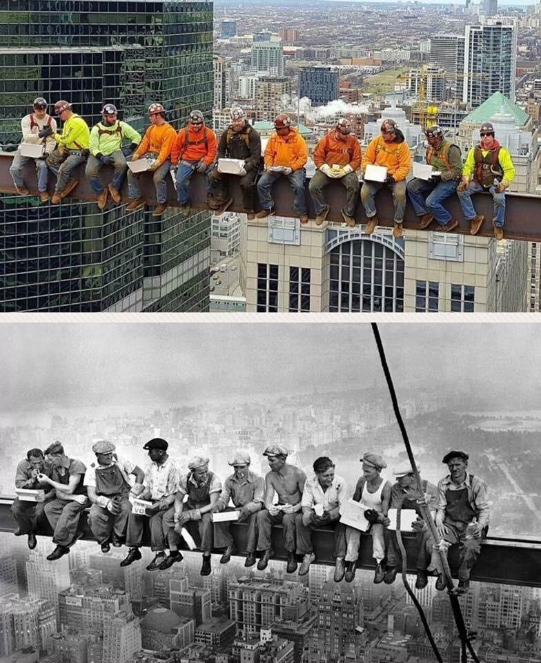 Chicago local #1 Iron Workers remake the iconic