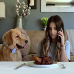 Video: Dog Is Left Alone With Cooked Chicken