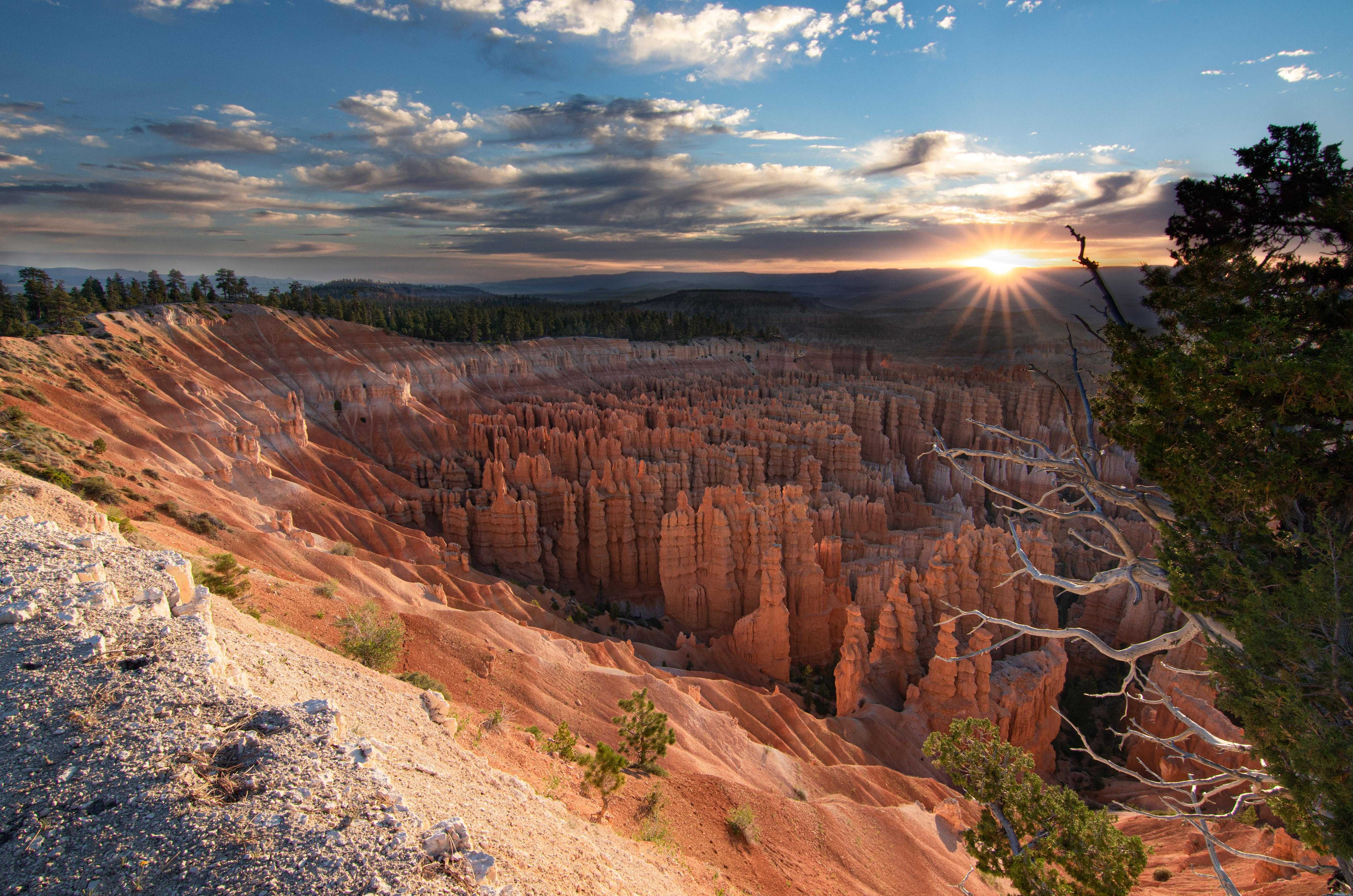 Crawling out of my tent at 4am was worth it for sunrise at Bryce Canyon NP, UT