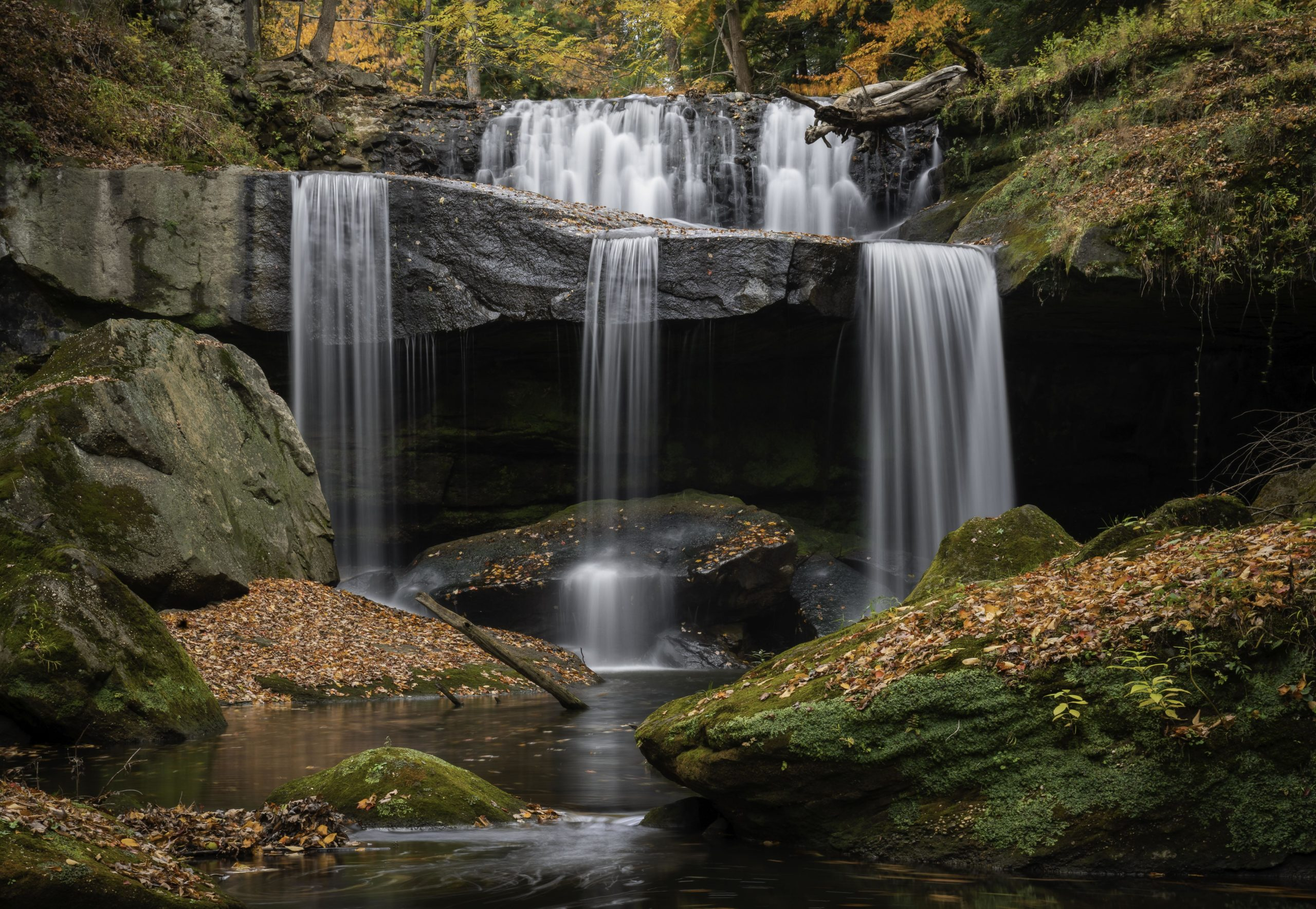 One of the many beautiful Falls throughout the state Ohio
