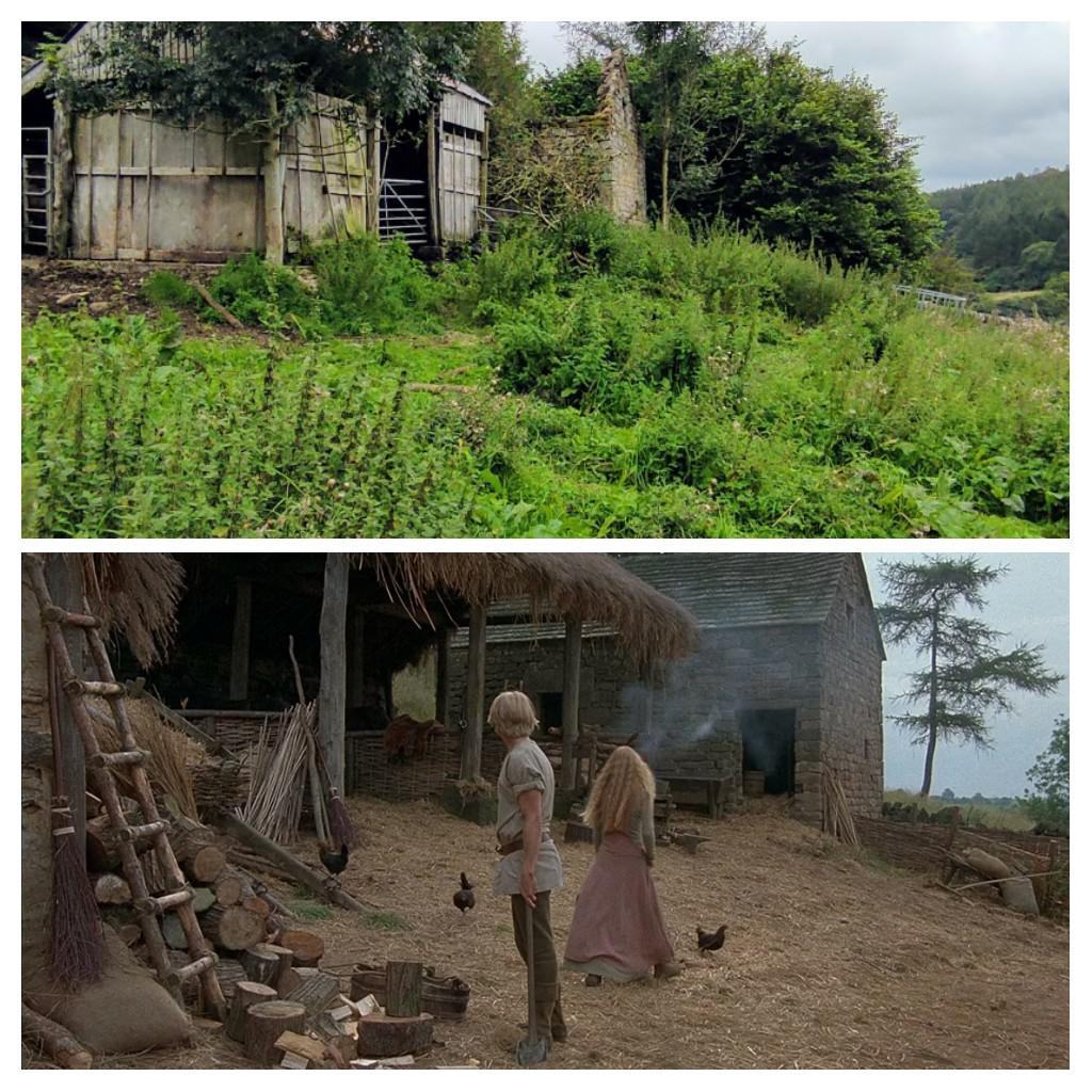 This is the barn from The Princess Bride from 1986 and now 2020