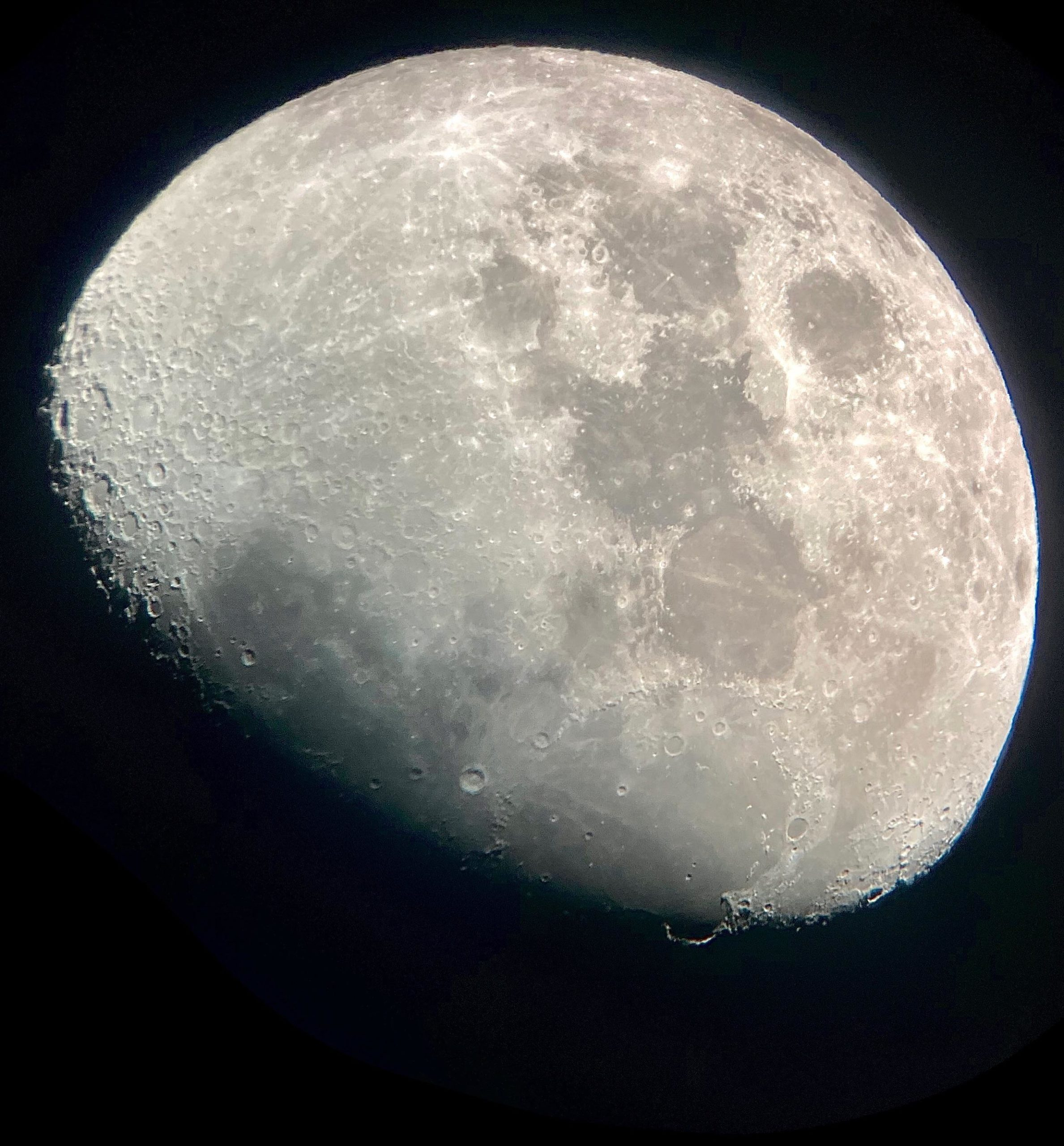 This might be my best picture of the moon since getting my first telescope about a month ago