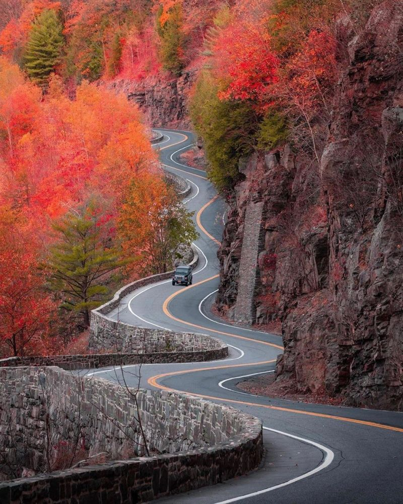 Scenic view in Upstate New York