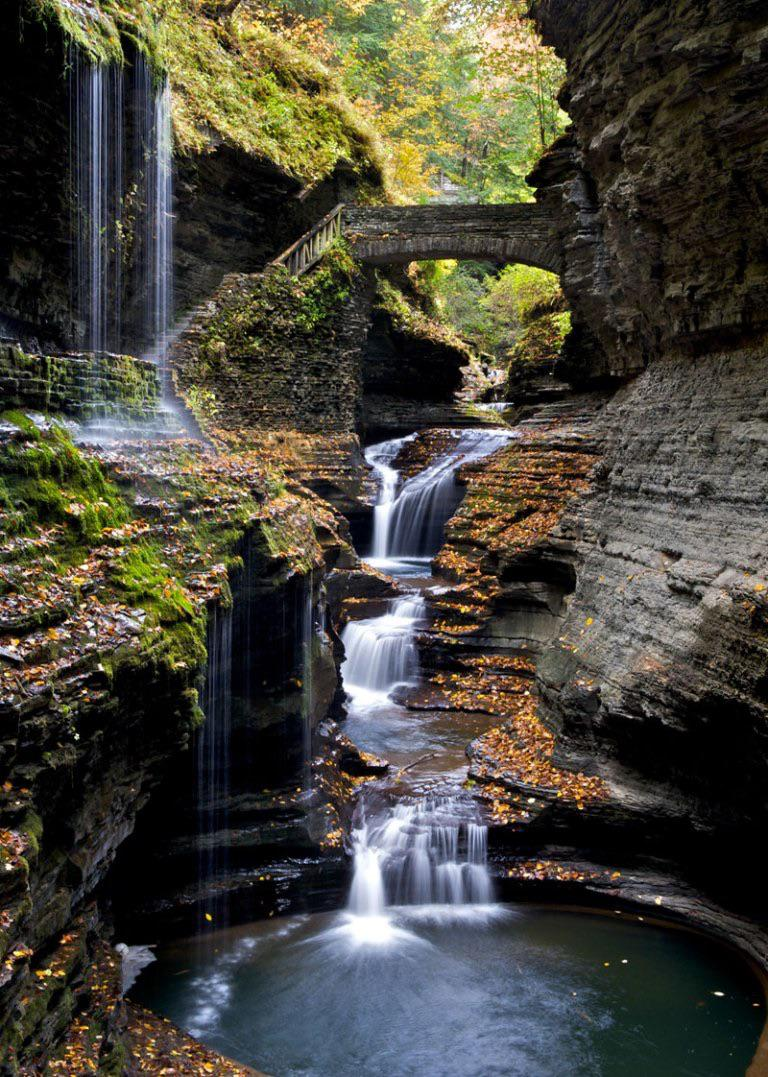 The Gorge at Watkins Glen State Park, New York